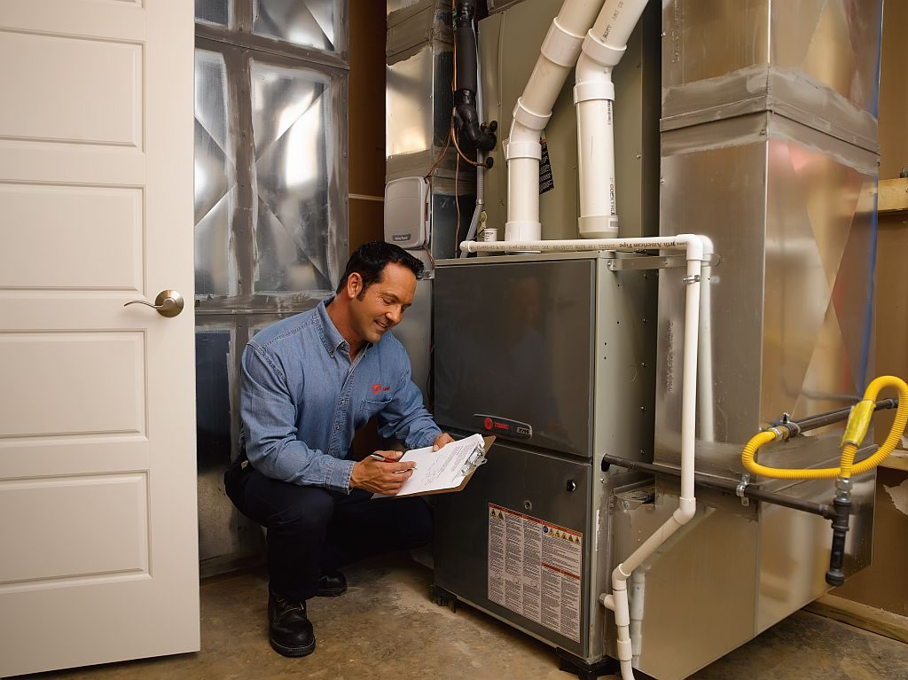 Furnace repair technician
